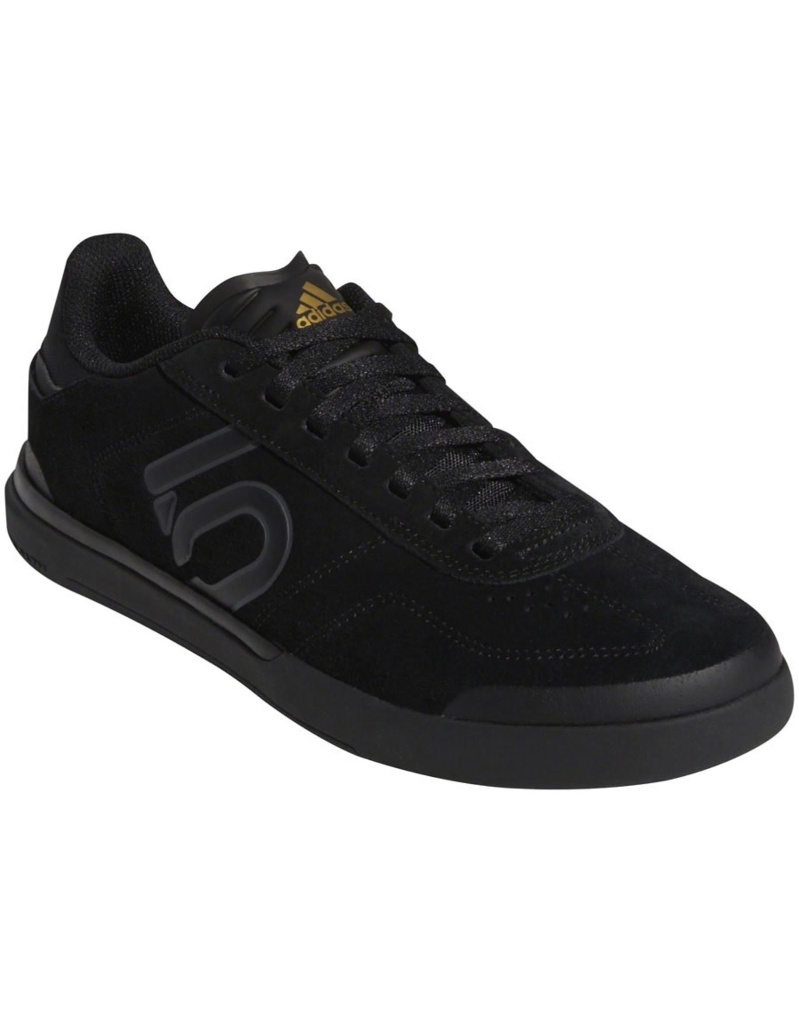 Five Ten Five Ten Sleuth DLX Women's Flat Shoe: Black/Gray Six/Matte Gold 8