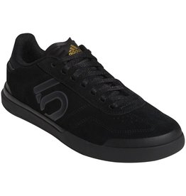 Five Ten Five Ten Sleuth DLX Women's Flat Shoe: Black/Gray Six/Matte Gold 9