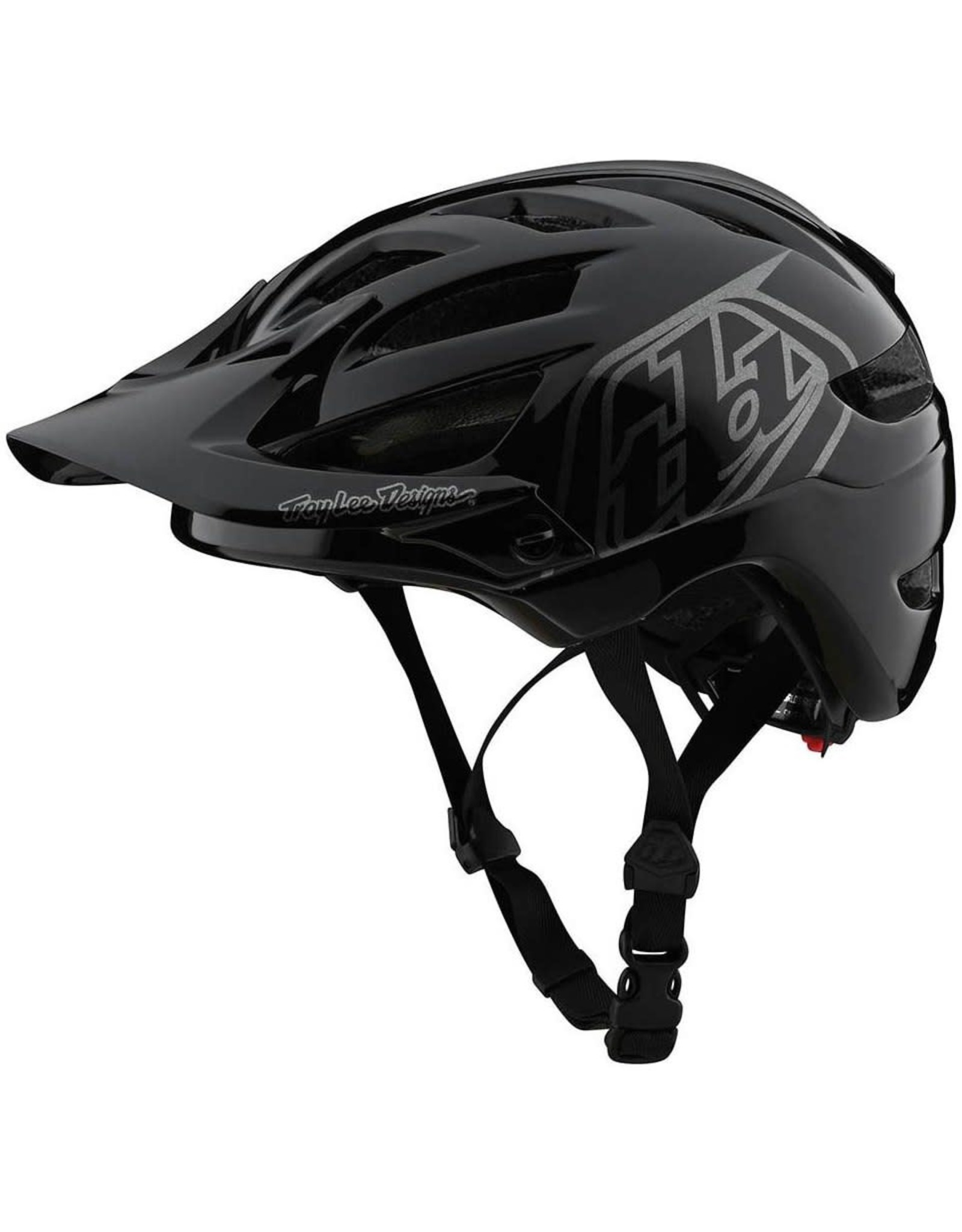 A1 HELMET; DRONE BLACK / SILVER YOUTH