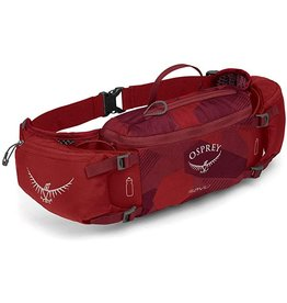 Osprey Osprey Savu Lumbar Bottle Pack: Molten Red, (Bottles Not Included)