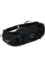 Osprey Osprey Savu Lumbar Bottle Pack: Obsidian Black, (Bottles Not Included)