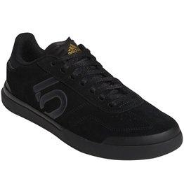 Five Ten Five Ten Sleuth DLX Women's Flat Shoe: Black/Gray Six/Matte Gold 8.5