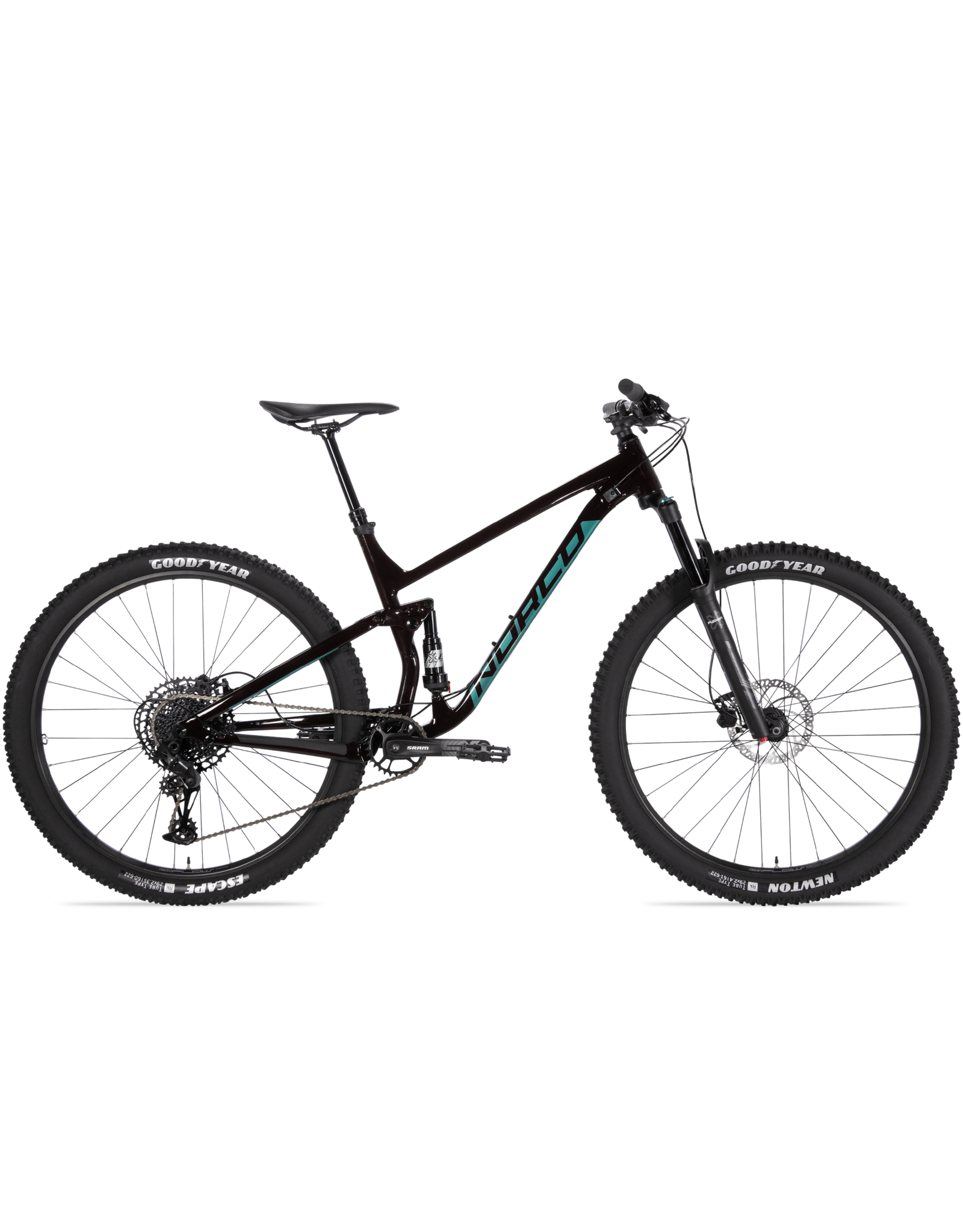 NORCO Bikes FLUID FS 3 M29 RED/GREEN