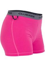 Club Ride Club Ride June Women's Liner: Ruby LG