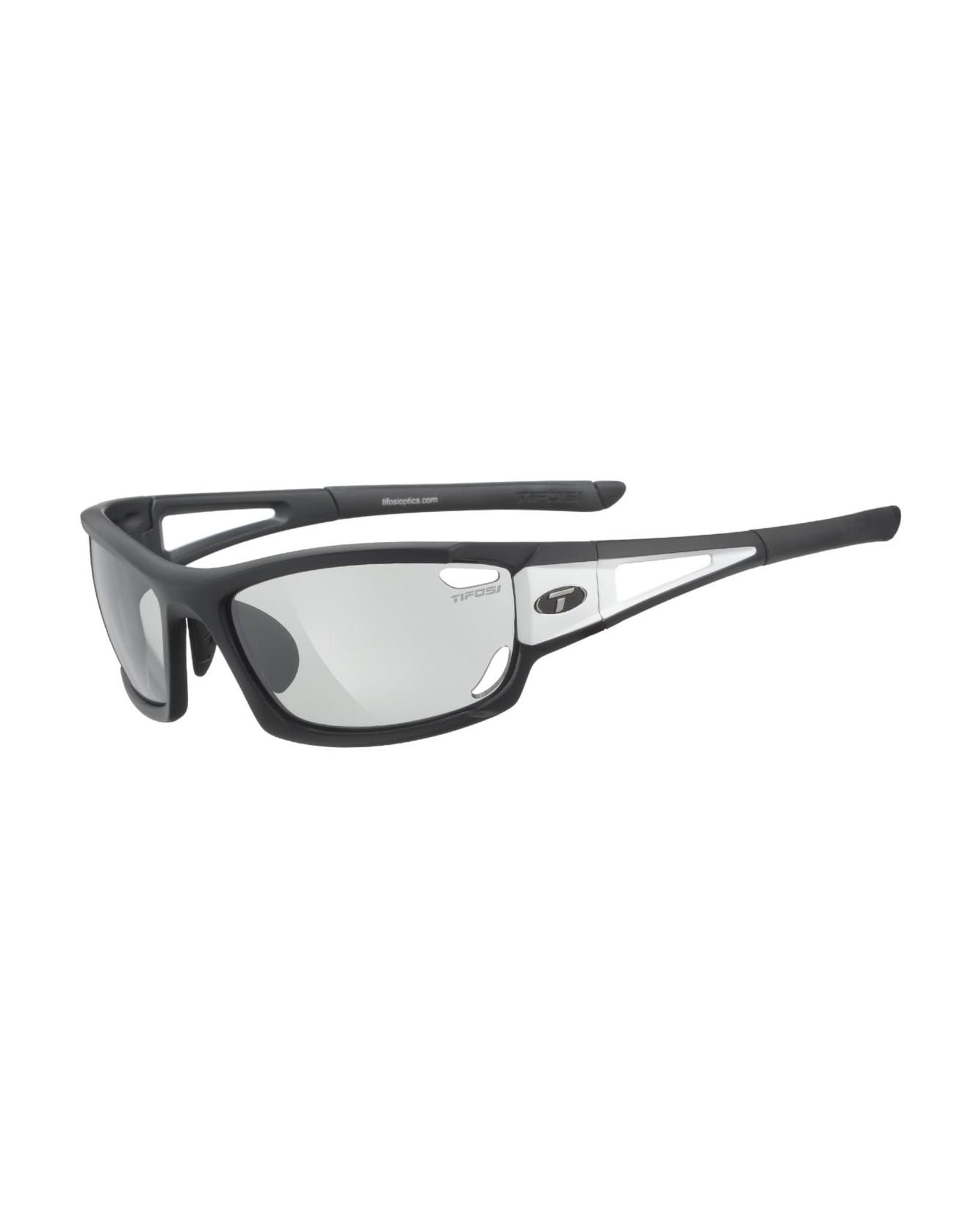 Tifosi Optics Dolomite 2.0, Black/White Light Night Fototec Lenses Glasses