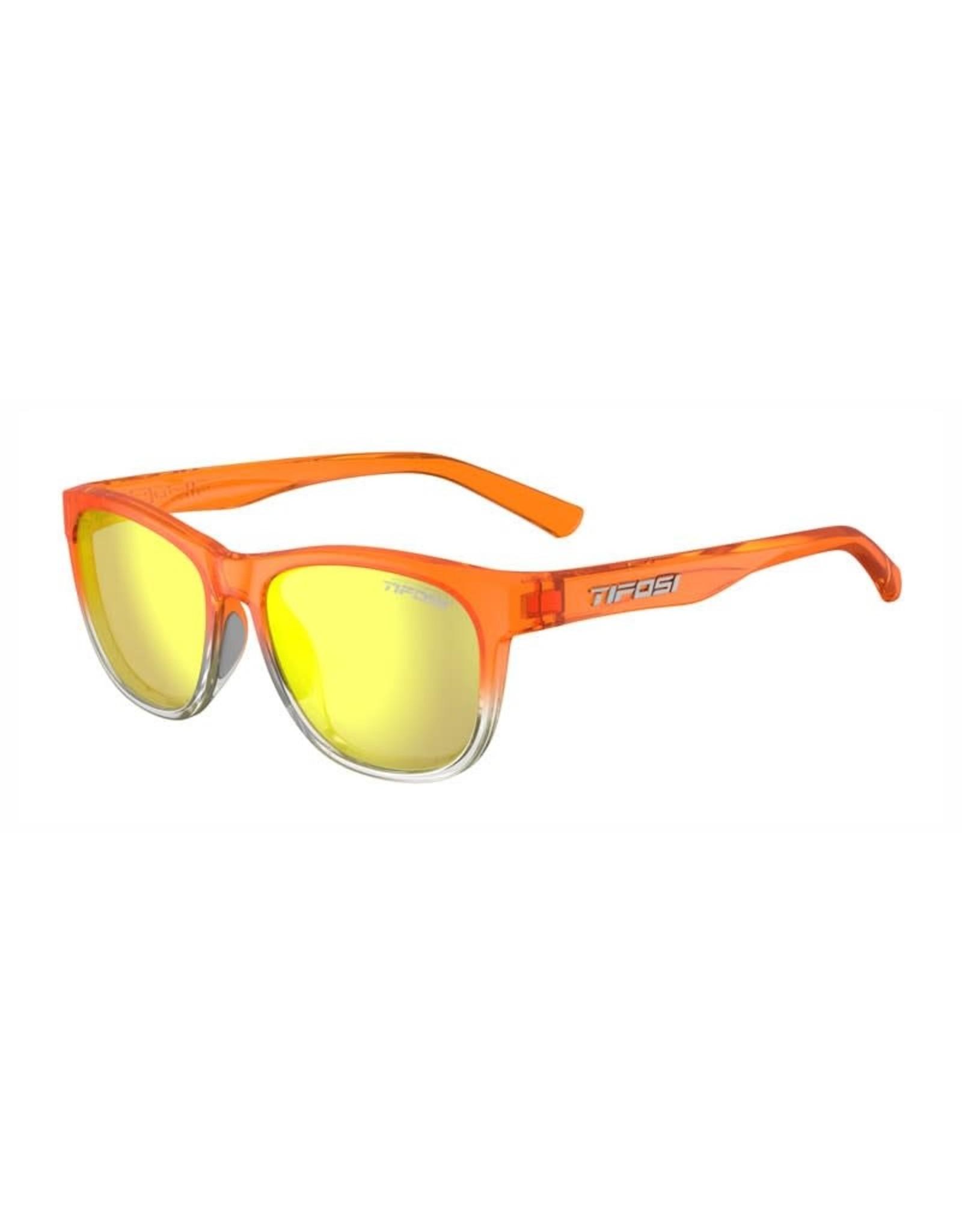 Tifosi Optics Swank, Orange Rush Smoke Yellow Glasses