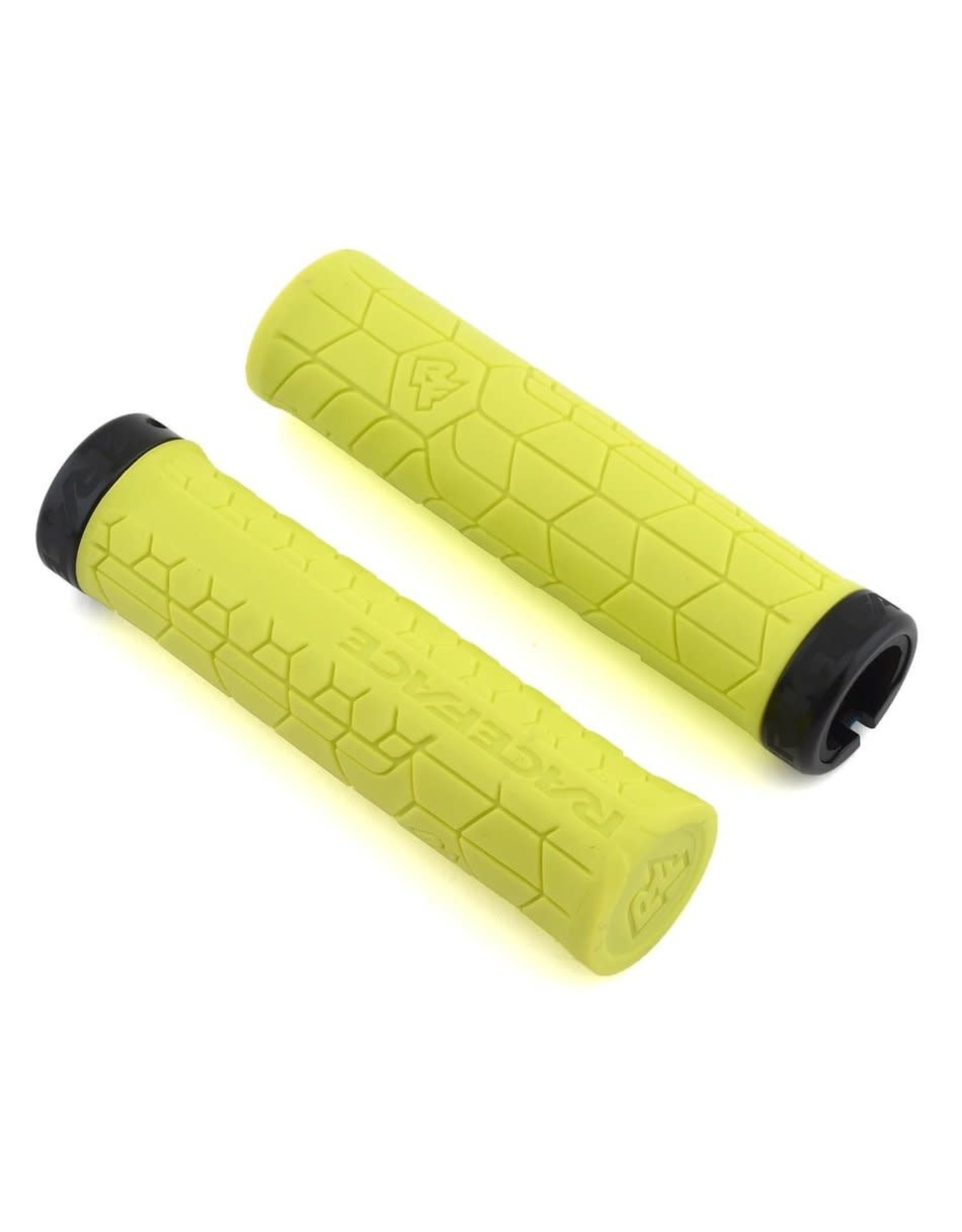RaceFace RaceFace Getta Grips - Yellow, Lock-On, 33mm