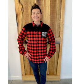 HandUP Brown County Bikes Flannel