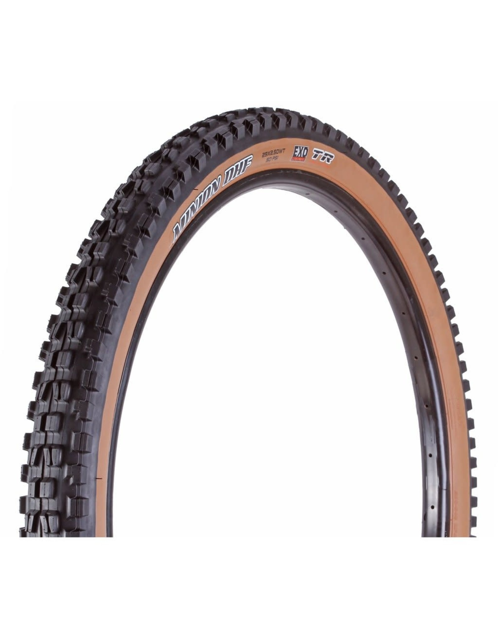Maxxis Maxxis Minion DHF Tire - 29 x 2.5, Tubeless, Folding, Black/Tan, Dual, EXO, Wide Trail