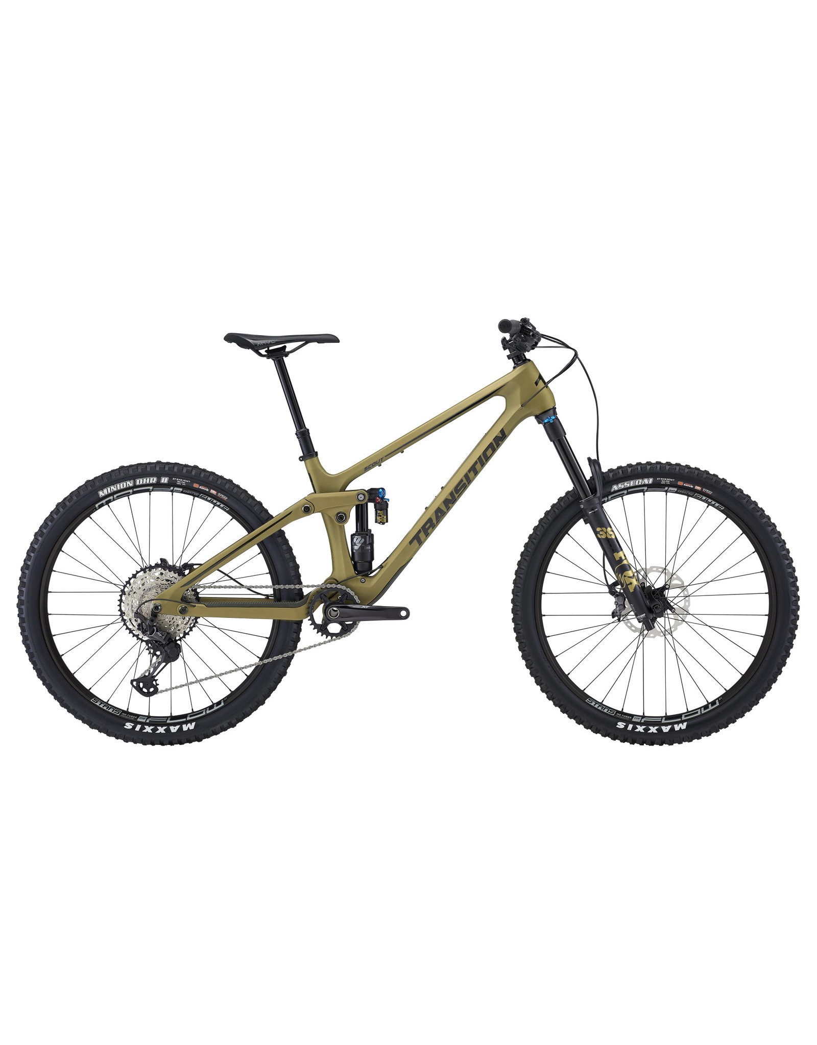 Transition Bikes Rental Transition Scout Carbon XT X-Small Olive Green