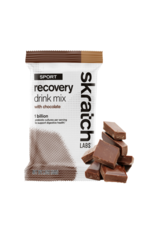 Skratch Labs Skratch Labs, Sport Recovery Drink, Drink Mix, Chocolate, Individual Packs