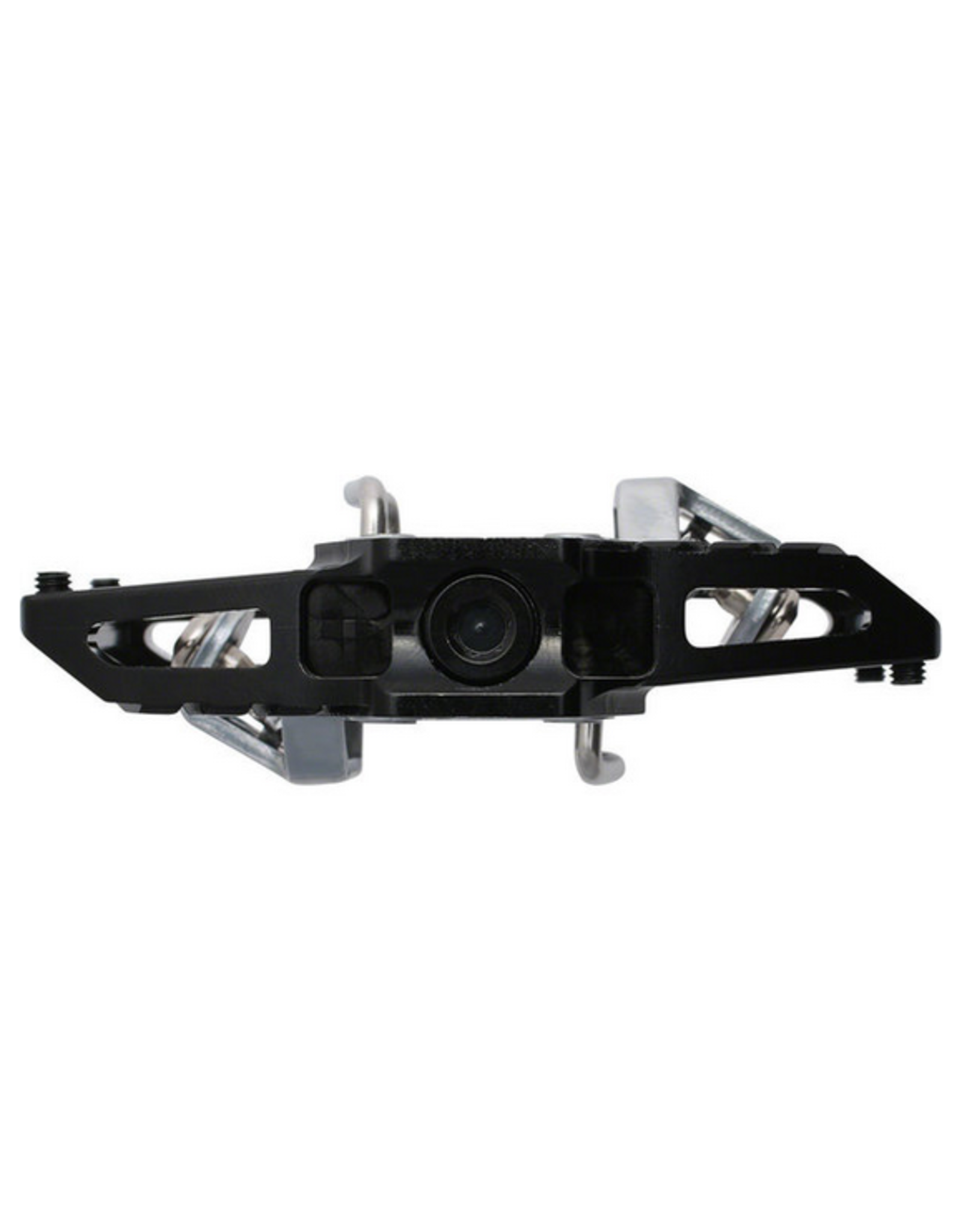 """HT Components HT T1 Enduro Race Pedals - Dual Sided Clipless with Platform, Aluminum, 9/16"""", Black"""