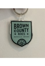 Brown County Bikes Key Chain