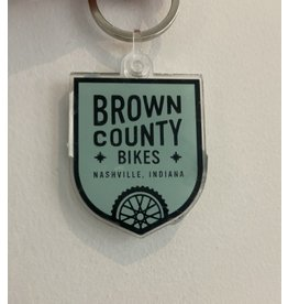 Brown County Bikes Key Chain