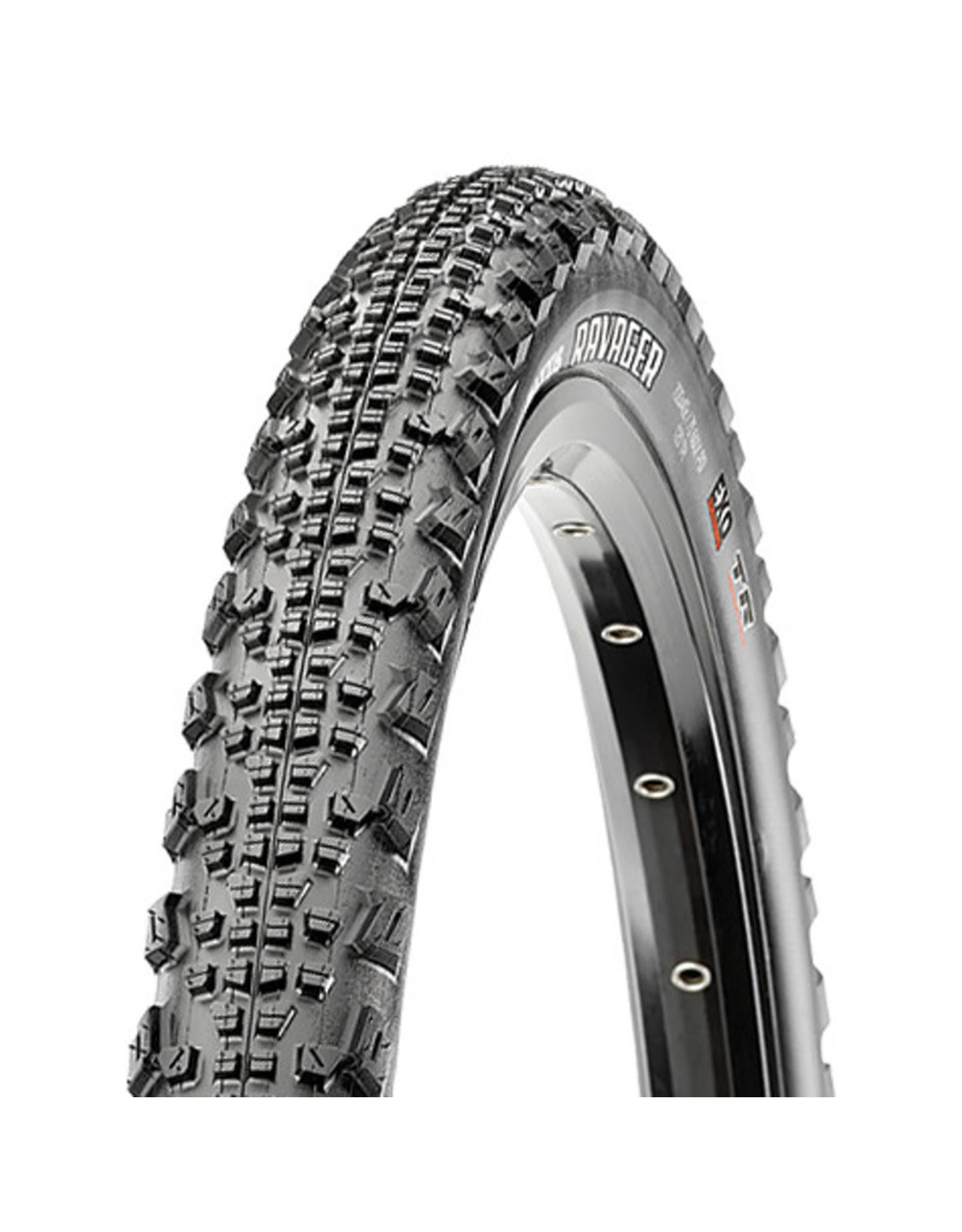 Maxxis Maxxis Ravager Tire - 700 x 40, Tubeless, Folding, Black, Dual, SilkShield