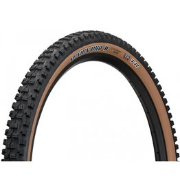 Maxxis Maxxis Minion DHR II Tire - 27.5 x 2.4, Tubeless, Folding, Black/Dark Tan, Dual, EXO, Wide Trail
