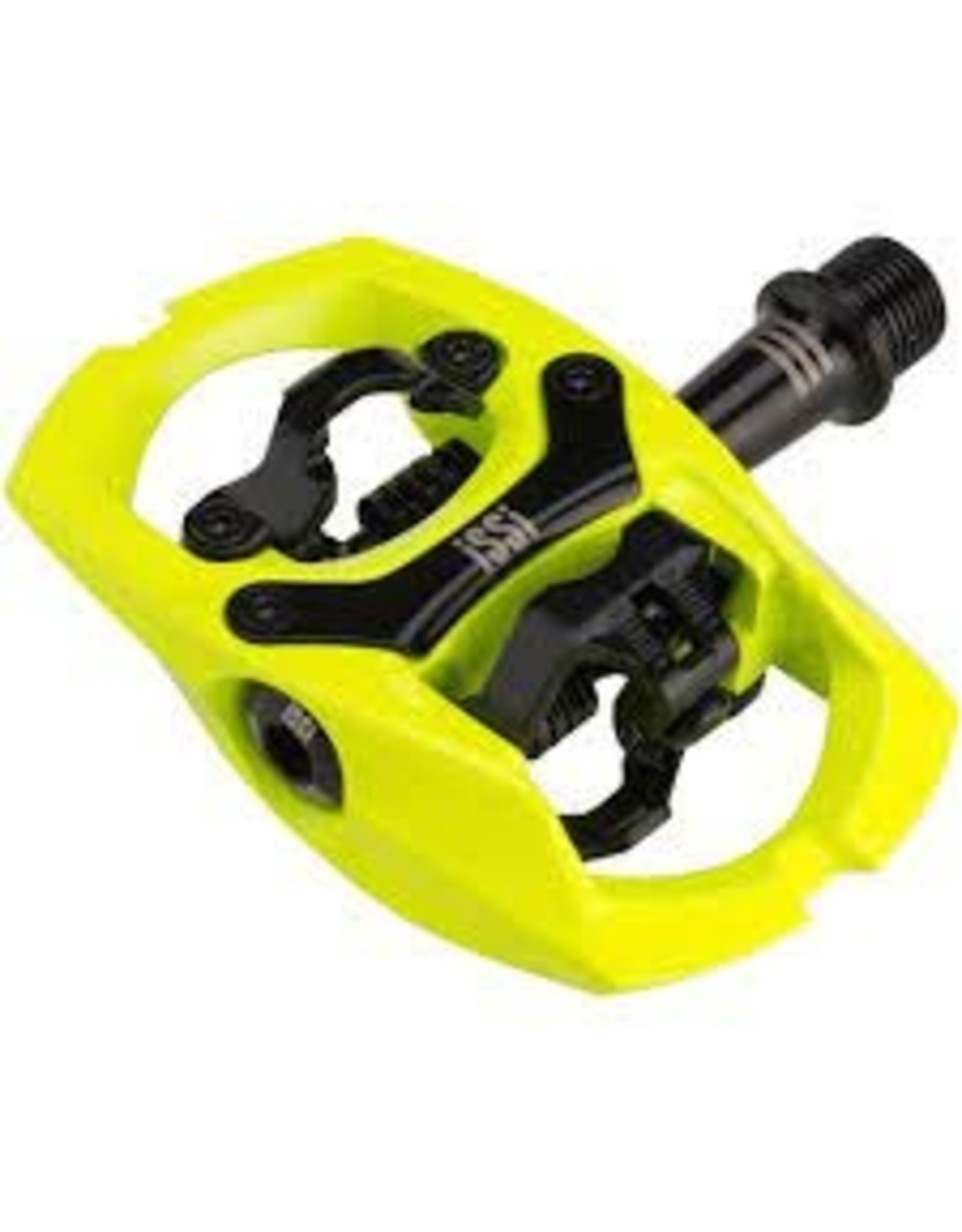 """iSSi iSSi Flash III Pedals - Dual Sided Clipless, Aluminum, 9/16"""", Yellow"""
