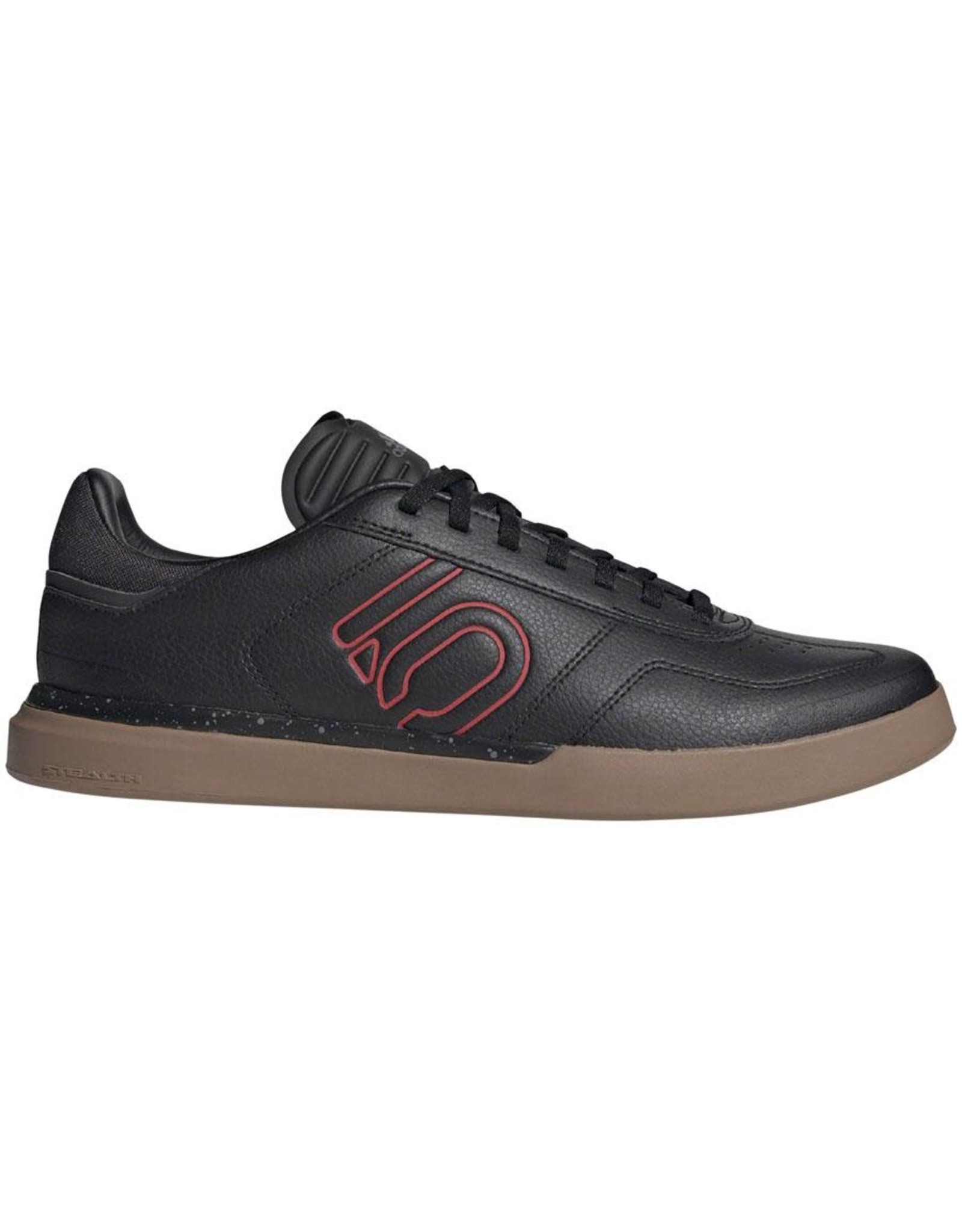 Five Ten Five Ten Sleuth DLX PU Men's Flat Shoe: Black/Scarlet/Gum
