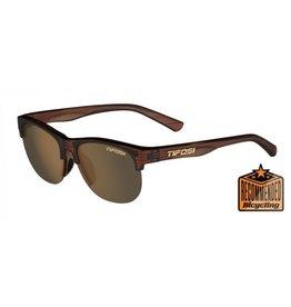 Tifosi Optics Swank SL, Woodgrain Polarized Sunglasses