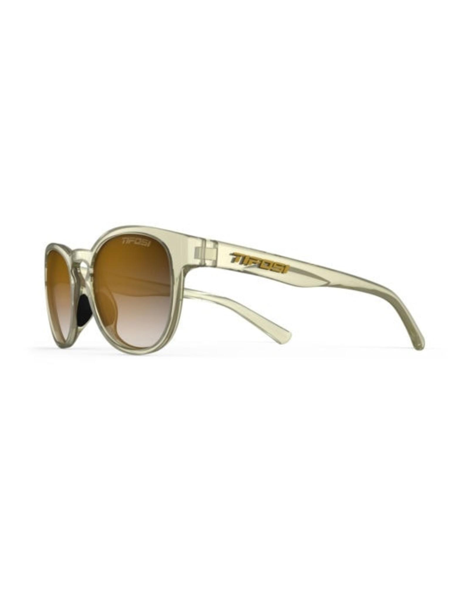 Tifosi Optics Svago, Crystal Champagne Single Lens Sunglasses