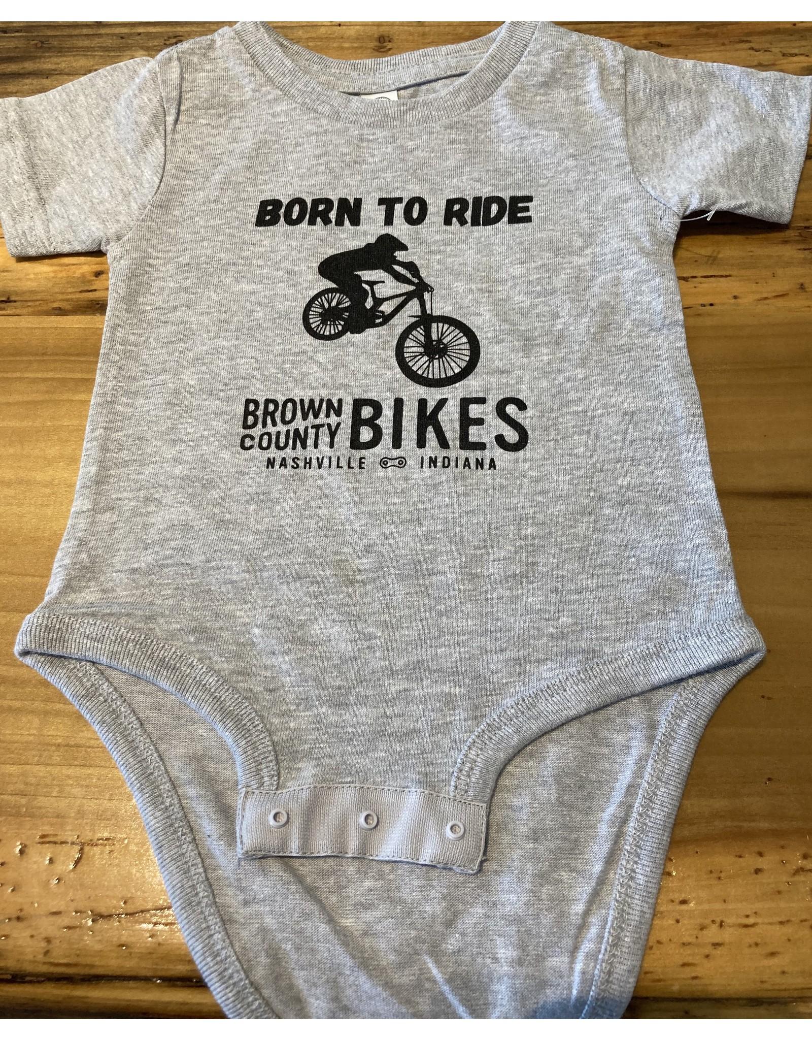 Brown County Bikes Onesie