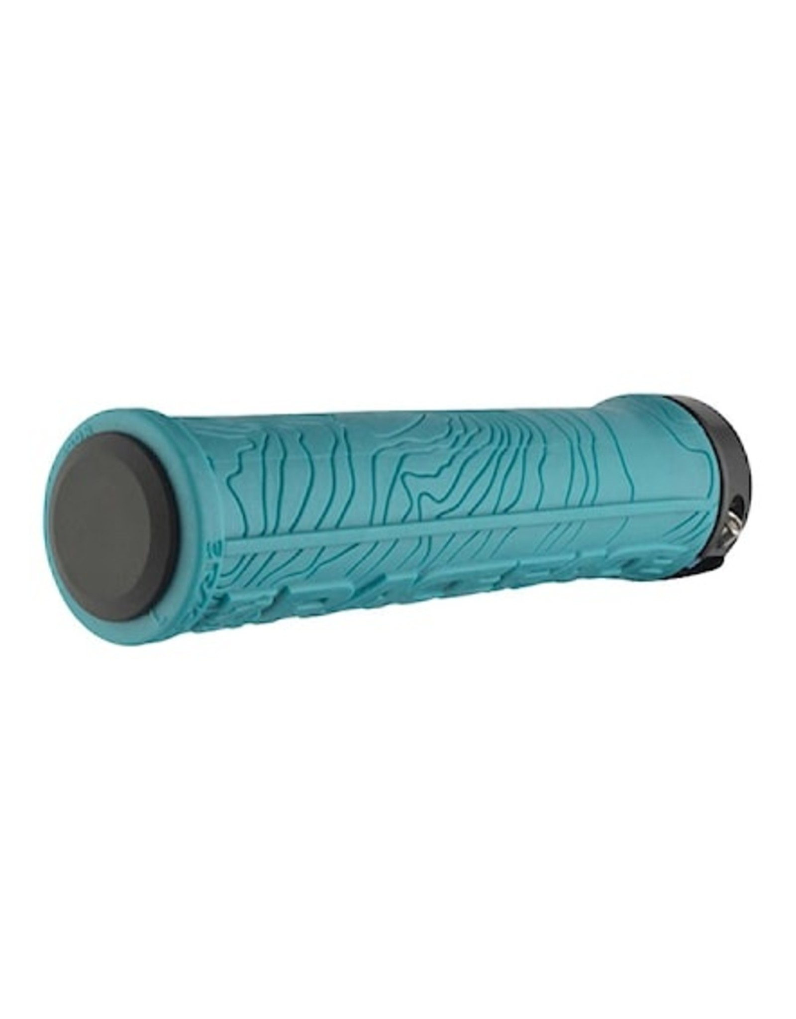 RaceFace RaceFace Half Nelson Grips - Turquoise, Lock-On