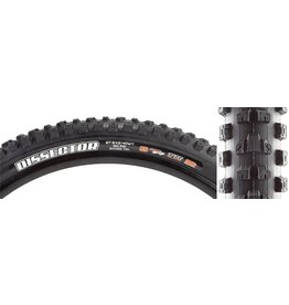 Maxxis Maxxis Dissector Tire - 27.5 x 2.4, Tubeless, Folding, Black, 3C MaxxGrip, DH, Wide Trail