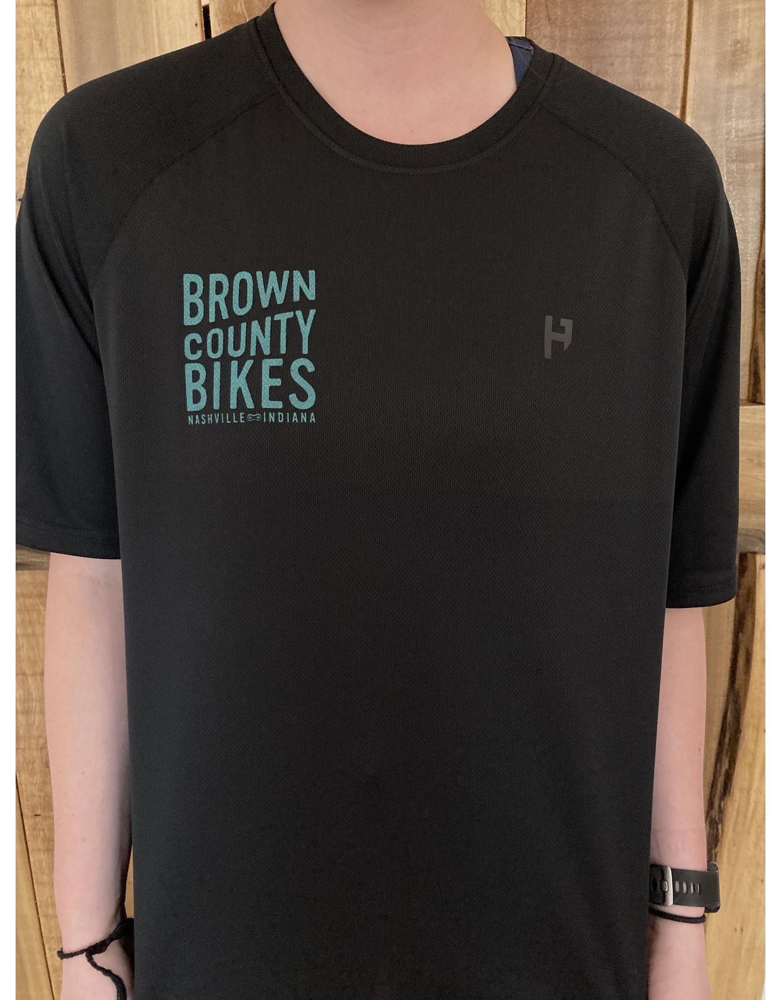 HandUP Brown County Bikes Jersey Coal
