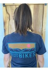 Brown County Bikes Navy T-Shirt