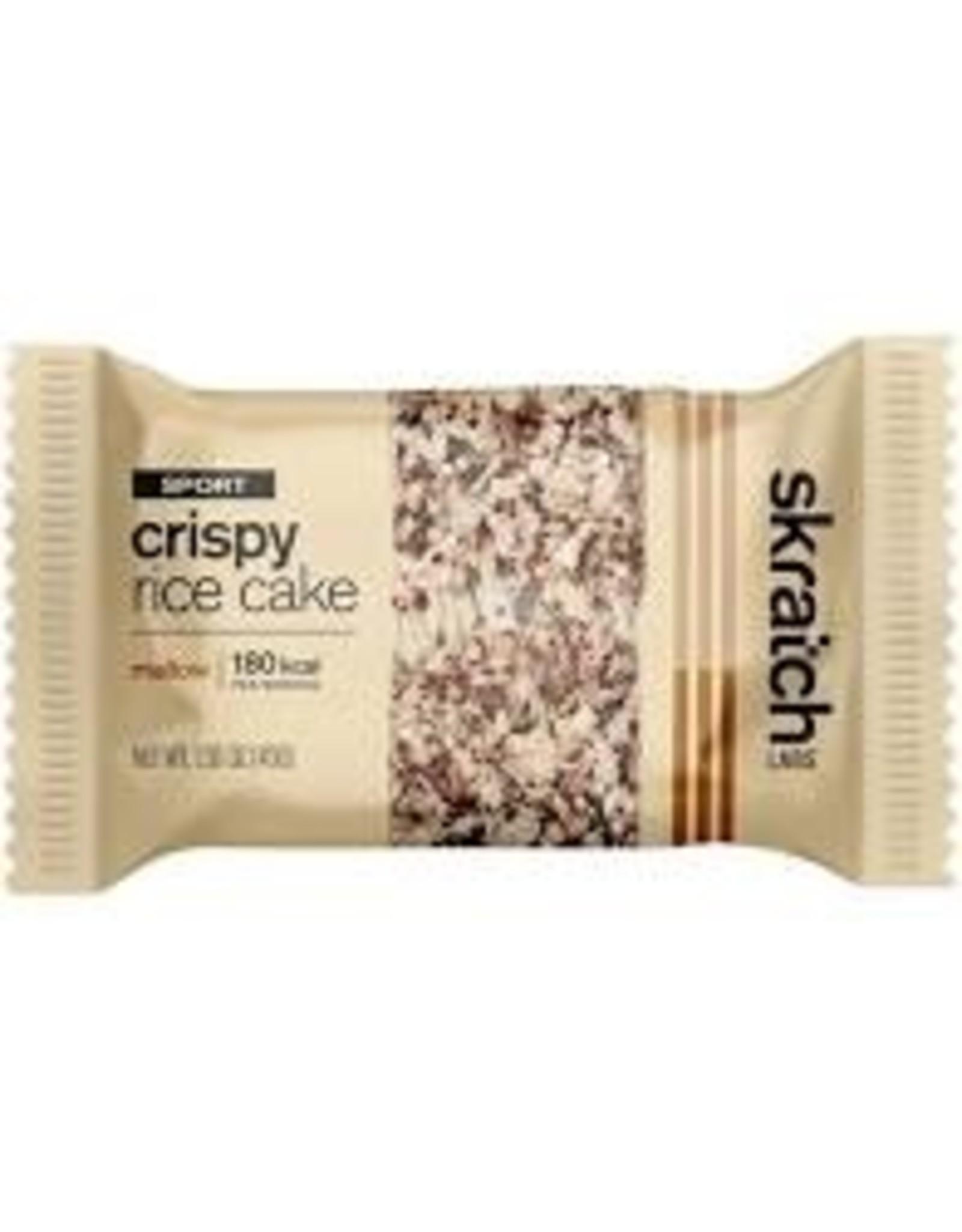 Skratch Labs Skratch Labs Crispy Rice Cake Bar - Mallow, Box of 8 single