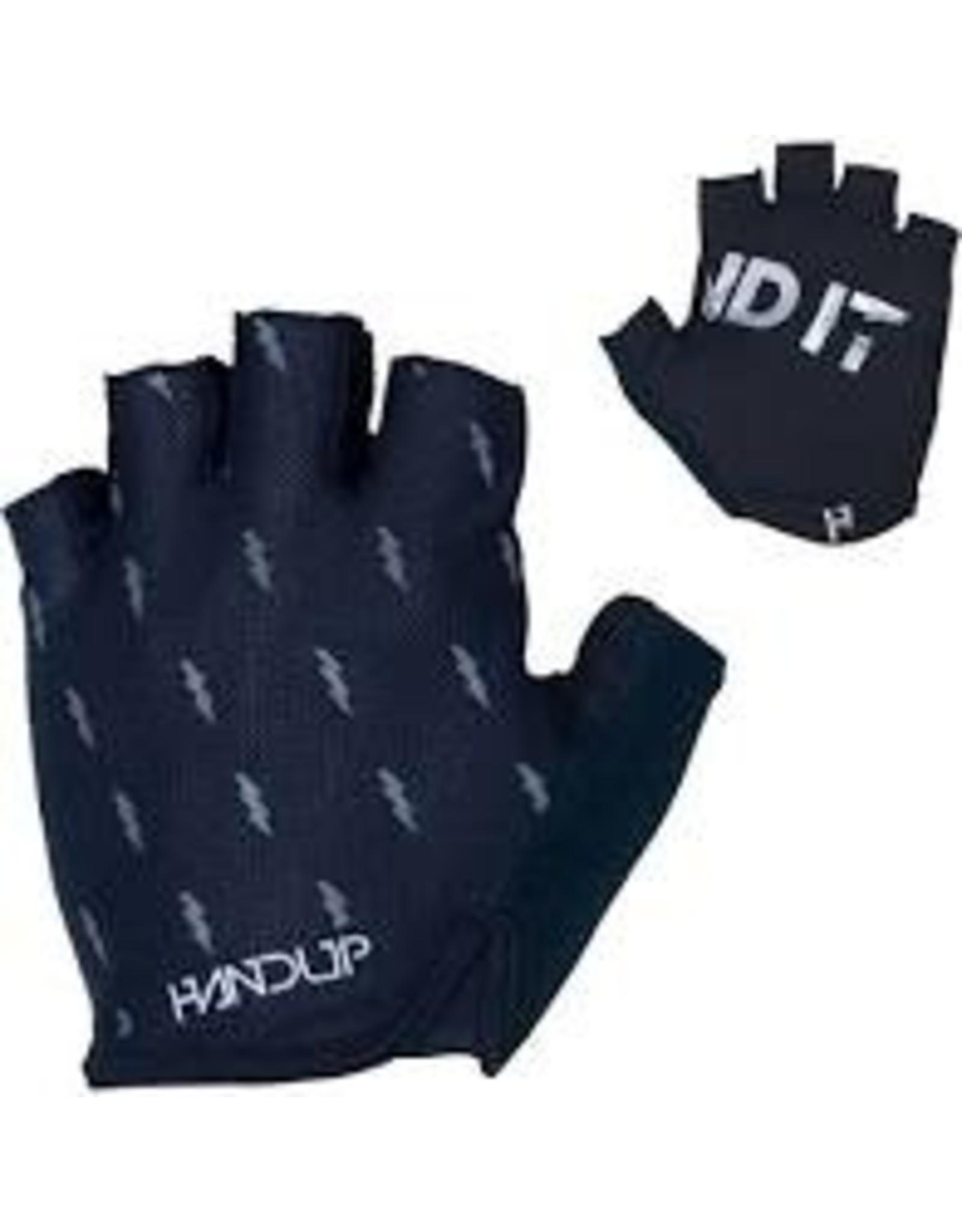 HandUP Handup Shorties Glove - Blackout Bolts, Short Finger