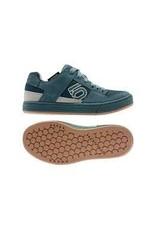 Five Ten Five Ten Freerider Flat Shoe - Women's, Sand / Wild Teal / Sand, 9.5