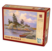 Cobble Hill Puzzles Cobble Hill Red Canoe Puzzle 1000pcs