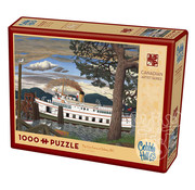 Cobble Hill Puzzles Cobble Hill The Car Ferry at Sidney, BC Puzzle 1000pcs