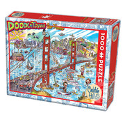 Cobble Hill Puzzles Cobble Hill DoodleTown San Francisco  Puzzle 1000pcs