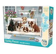 Cobble Hill Puzzles Cobble Hill Porch Pals Family Puzzle 350pcs