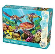 Cobble Hill Puzzles Cobble Hill Molokini Current Family Puzzle 350pcs