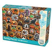 Cobble Hill Puzzles Cobble Hill Halloween Cookies Family Puzzle 350pcs