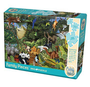 Cobble Hill Puzzles Cobble Hill Noah's Gathering Family Puzzle 350pcs