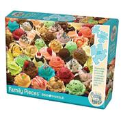Cobble Hill Puzzles Cobble Hill More Ice Cream Family Puzzle 350pcs