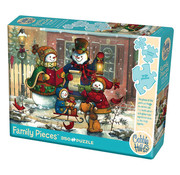 Cobble Hill Puzzles Cobble Hill Song for the Season Family Puzzle 350pcs