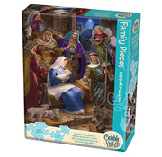 Cobble Hill Puzzles Cobble Hill Holy Night Family Puzzle 350pcs