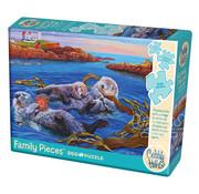 Cobble Hill Puzzles Cobble Hill Sea Otter Family Puzzle 350pcs