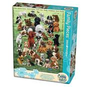 Cobble Hill Puzzles Cobble Hill Puppy Love Family Puzzle 350pcs