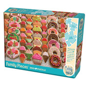 Cobble Hill Puzzles Cobble Hill Sweet Treats Family Puzzle 350pcs