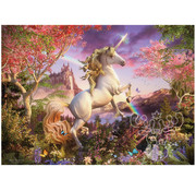 Cobble Hill Puzzles Cobble Hill Realm of the Unicorn Family Puzzle 350pcs