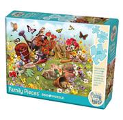 Cobble Hill Puzzles Cobble Hill Garden Scene Family Puzzle 350pcs