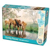 Cobble Hill Puzzles Cobble Hill Horse Family Family Puzzle 350pcs