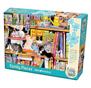 Cobble Hill Puzzles Cobble Hill Storytime Kittens Family Puzzle 350pcs