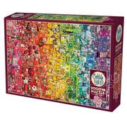 Cobble Hill Puzzles Cobble Hill Rainbow Puzzle 2000pcs